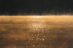 Eerste stralen van de zon royalty-vrije stock fotografie