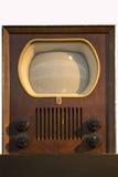 Eerste televisie - TV - Philips 1950 Royalty-vrije Stock Afbeeldingen
