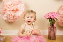Eerste verjaardag Royalty-vrije Stock Foto