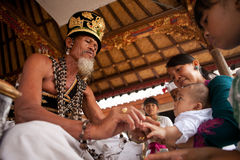 Eerste verjaardag op Bali eiland Royalty-vrije Stock Foto