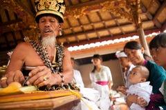 Eerste verjaardag (Oton) op Bali eiland Stock Afbeeldingen