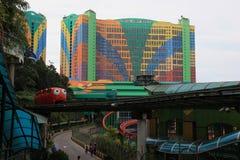 Eerste Wereldhotel bij Genting-Hooglanden Royalty-vrije Stock Afbeeldingen