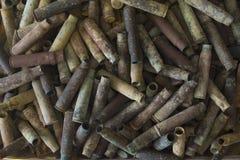 Eerste Wereldoorlog oude kogels in à ‡ anakkale royalty-vrije stock afbeelding