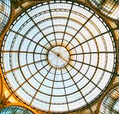 Eerste winkelcomplex, Galleria Vittorio Emanuele II Royalty-vrije Stock Fotografie