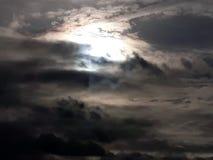 Eery  Sky. Eery looking evening sky Stock Image