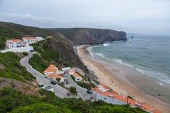 Eest Ð ¡ en strand van Portugal royalty-vrije stock foto