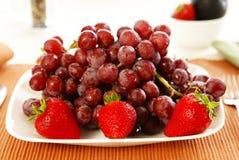 Eet Fruit Royalty-vrije Stock Foto