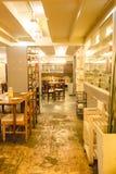 Eet het restaurant/de koffie van Viet Vietnamese stock afbeeldingen