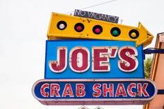 Eet in Joe stock foto