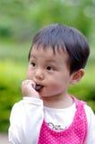 Eet koekje stock foto's