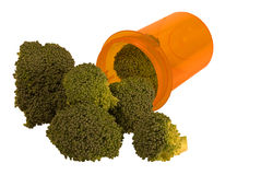Eet uw veggies Stock Fotografie