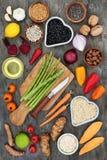 Eet voor een Gezond Hart Stock Fotografie