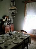 Eetkamer in Kaap Breton stock fotografie