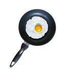 Eetlust gebraden eieren Stock Afbeeldingen