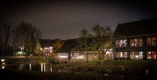 Eeuwen Oude Watermill stock afbeeldingen
