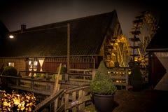 Eeuwen Oude Watermill stock foto