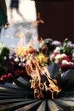 Eeuwige brand Stock Afbeelding