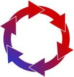Eeuwige cirkel Stock Afbeeldingen