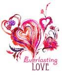 Eeuwige liefde Stock Foto
