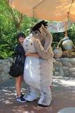 Eeyore en Disneyland Foto de archivo libre de regalías