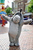 Eeyore in parade from Winney the pooh. Eeyore from Winney the pooh of Disney carnival parade Royalty Free Stock Photo