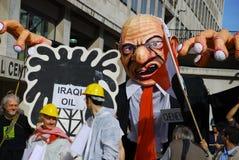 Efígie de Dick Cheney Imagens de Stock