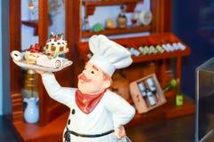 Efígie de levar principal do cozinheiro Imagens de Stock Royalty Free