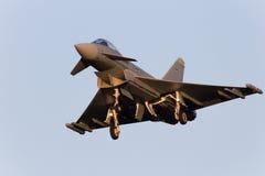 EF2000台风战斗机 免版税库存照片