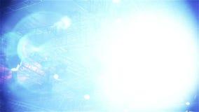 Efectúe las luces del vector, en concierto de la demostración viva almacen de metraje de vídeo