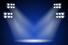 Efectúe las luces Fotos de archivo