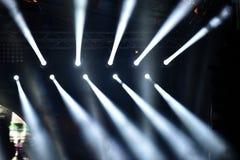 Efectúe las luces Fotos de archivo libres de regalías