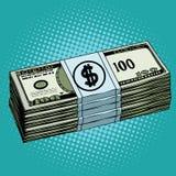 Efectivo de los dólares del dinero libre illustration