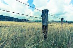Efecto australiano de la imagen del vintage del proceso de la cruz del paisaje Foto de archivo