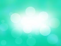 Efecto azul abstracto del bokeh del fondo .light. tarjeta del día de fiesta. Fotografía de archivo libre de regalías