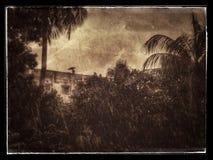 Efecto creativo de la lluvia Foto de archivo