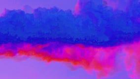 Efecto de la interferencia Las formas de Glitched les gusta humo Error al azar de la señal numérica Fondo contemporáneo abstracto libre illustration
