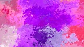 Efecto de la mancha de la acuarela - color violeta púrpura de la lavanda de las rosas fuertes stock de ilustración