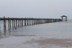 Efecto de la marea inferior Foto de archivo libre de regalías