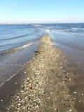 Efecto de la marea inferior Fotografía de archivo libre de regalías