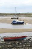 Efecto de la marea inferior Imagenes de archivo