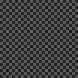 Efecto de la transparencia de la rejilla Modelo inconsútil con la malla transparente Gris oscuro ilustración del vector