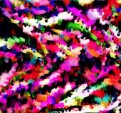 Efecto de los colores como humo, salpicaduras y explosión para el fondo y el diseño del papel pintado libre illustration