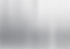 Efecto de semitono abstracto del movimiento con el fondo y la textura blancos y negros de descoloramiento de la gradación del pun stock de ilustración