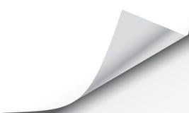 Efecto de torneado del rizo de la página libre illustration