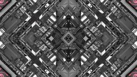 Efecto del espejo de las estructuras del metal ilustración del vector