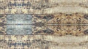 Efecto del espejo sobre un tablero de madera del vintage libre illustration