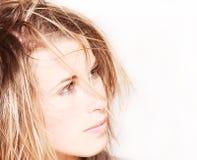 Efecto del peinado Foto de archivo libre de regalías