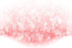 Efecto descendente de la nieve de la Navidad del vector Imagenes de archivo