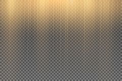 Efecto especial de la llamarada ligera con los rayos de la luz fotos de archivo libres de regalías