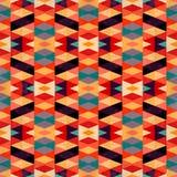 Efecto geométrico psicodélico brillante del grunge del ejemplo del vector del fondo Fotos de archivo libres de regalías